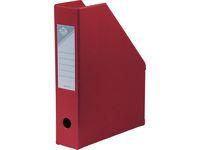 Tidskriftssamlare ESSELTE A4 70mm röd