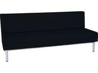 Soffa RELAX tripel mörkgrå