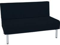 Soffa RELAX dubbel mörkgrå