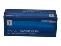 Polynova Frys- och förvaringspåse LLD 2L (fp om 50 st)