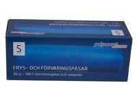 Polynova Frys- och förvaringspåse LLD 5L (fp om 30 st)