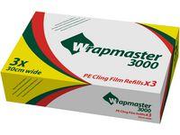 Plastfilm PE Wrapmaster 3000 30cmx300m