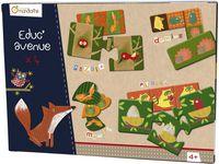 Avenue Mandarine Spel 4-i-1 Skogen