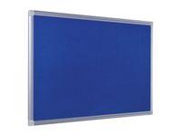 Anslagstavla Maya Blue Alu 900x600mm