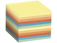 Blockkub 90x90x90 800bl flerfärg