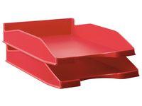 Brevkorg A4 röd
