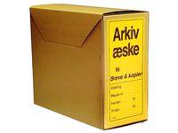 Arkivbox   2201 Folio brun