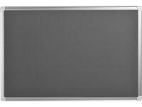 Anslagstavla Maya grå 900x600mm