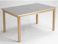 Akustikbord 80x140cm Ljusgrå höjd 72cm