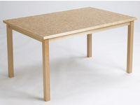 Akustikbord  80x140cm Beige höjd 52cm