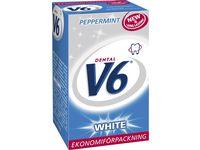 DENTAL V6 Tuggummi White Peppermint ask