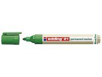 Märkpenna EDDING Ecoline 21 grön