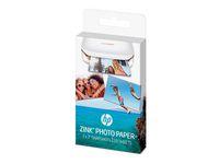 Fotopapper HP Zink 50x76mm 20/FP