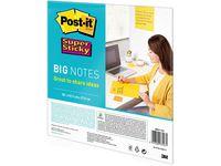 Notes POST-IT SS 279x279mm gul