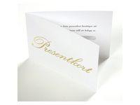 Presentkort 100 kort + 100 kuvert