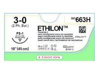 Sutur Ethilon 3-0 FS-1 45cm 36/FP