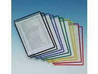Panel TARIFOLD A4 sort. färger 10/FP