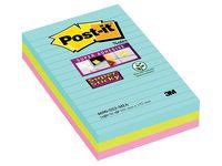 POST-IT Sup Stic Miami linj 101x152 3/FP