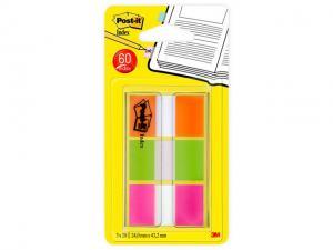 Index POST-IT Neon orange,lime grön,rosa