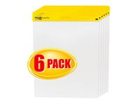 Blädderblock Post-it® 635x775mm 6-pack