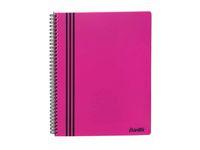 Kollegieblock BANTEX A4 PP pink