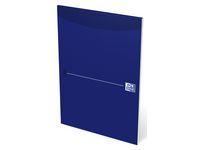 Anteckningsbok OXFORD blankt, A4 blå