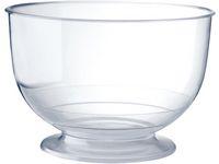 Glassbägare DUNI transp 260ml 20/FP