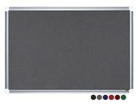 Anslagstavla Maya 120x90 cm svart