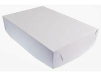 Tårtlock 30x45x9 cm vit 100/FP