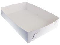 Tårtkartong 30x45x14 cm vit 100/FP
