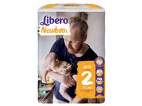 Barnblöja LIBERO New Born2 3-6kg 88/FP