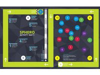 Sphero aktivitetsmatta 1 - Racetrack mat