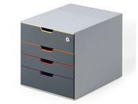 Blankettbox DURABLE varicolor 4 m.lås