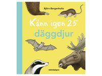 Bok Känn igen 25 däggdjur