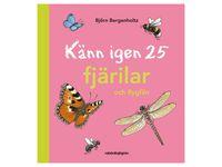 Bok Känn igen 25 fjärilar