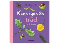 Bok Känn igen 25 träd och buskar