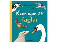Bok Känn igen 25 fåglar