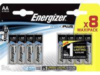 Batteri ENERGIZER Max Plus AA 8/FP