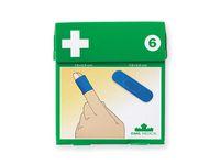 Plåster DAHL blå detectable #6 50/FP