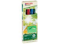 Märkpenna EDDING Ecoline 25 4 färger