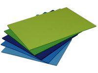 Dekorationskart A4 nyans Blå-Grön 50/FP