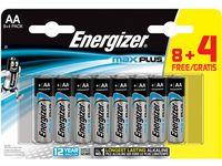 Batteri ENERGIZER Max Plus AA 12/FP