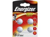 Batteri ENERGIZER Cell Lithium 2016 4/FP