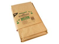 Kompostpåse PURE papp 120L brun 3/FP