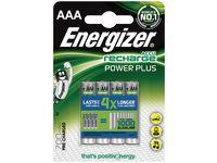 Batteri Laddbar ENERGIZER P-P AAA 4/FP