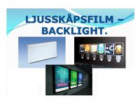 Ljusskåpsfilm 100g A3 100/FP