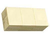 Notes STANDARD 38x51mm gul 100bl