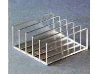 Brevställ 5-fack transparent