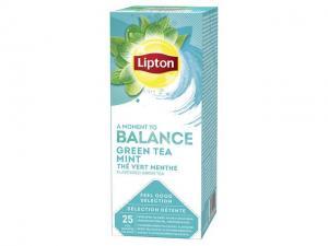 Lipton Te påse Green Tea Mint (fp om 25 påsar)