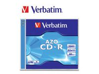 CD-R VERBATIM 700MB Jewel Case 10/FP